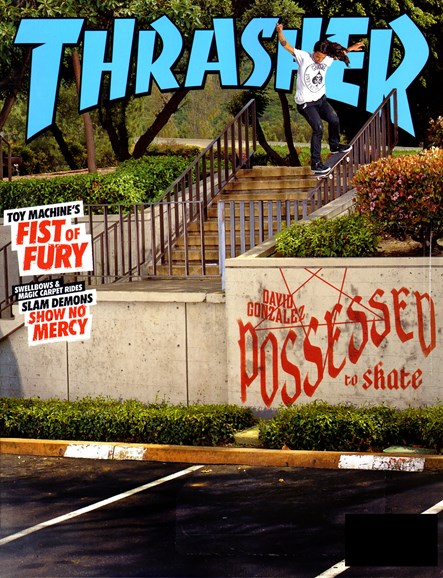 Thrasher Cover - 10/1/2012