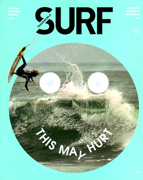 Transworld SURF Cover - 10/1/2012