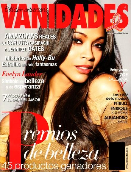 Vanidades Cover - 10/1/2012