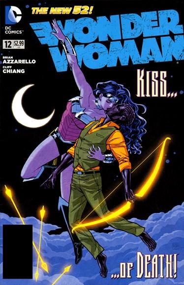 Wonder Woman Cover - 10/1/2012