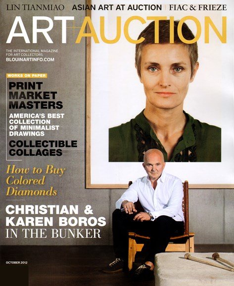 Blouin Art & Auction Cover - 10/1/2012