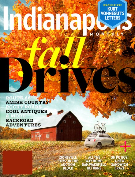 Indianapolis Monthly Cover - 10/1/2012