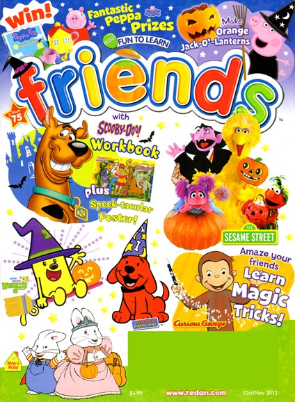 Preschool Friends Cover - 10/1/2012