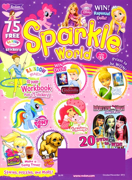 Sparkle World Cover - 10/1/2012