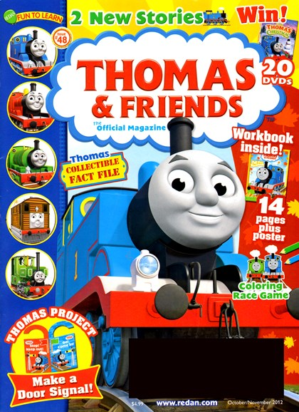 Thomas & Friends Cover - 10/1/2012