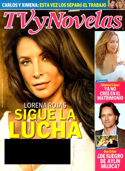 Tv Y Novelas Cover - 10/1/2012