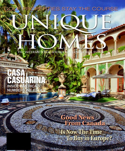 Unique Homes Cover - 9/1/2012