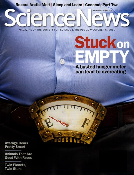 Science News Cover - 10/6/2012