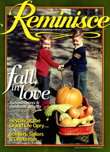 Reminisce Cover - 10/1/2012