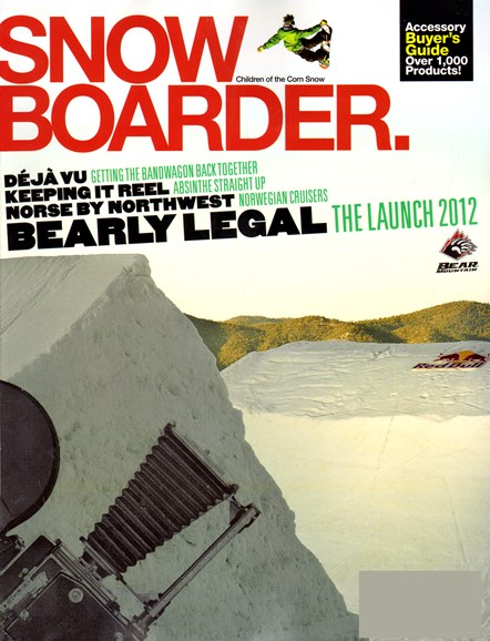 Snowboarder Cover - 10/1/2012