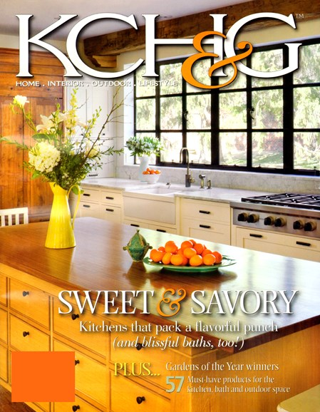 Kansas City Homes & Gardens Cover - 10/1/2012