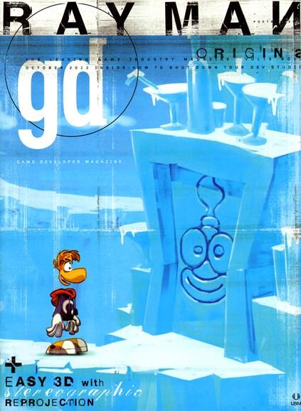 Game Developer Cover - 10/1/2012