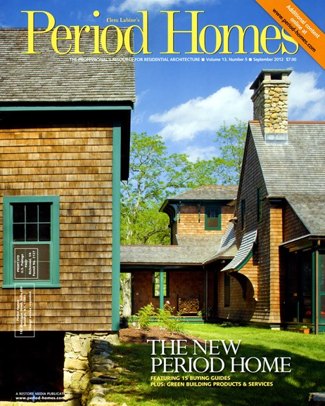 Period Homes Cover - 9/1/2012
