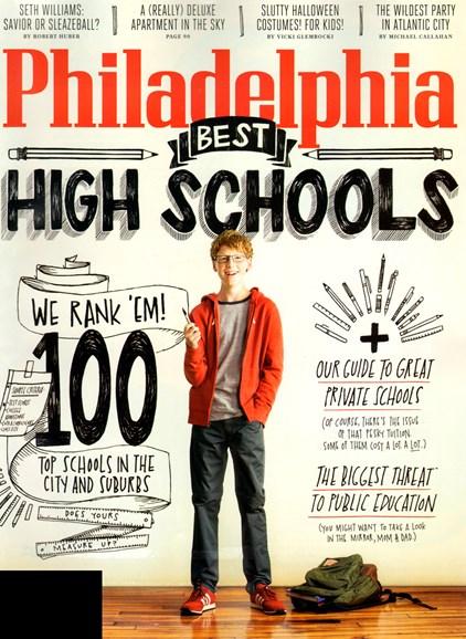 Philadelphia Magazine Cover - 10/1/2012