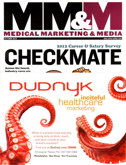 Medical Marketing & Media Cover - 10/1/2012