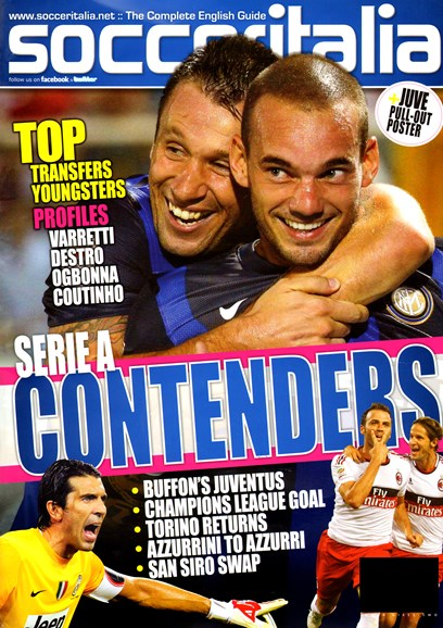 Soccer Italia Cover - 11/1/2012