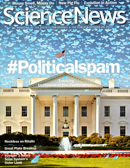 Science News Cover - 10/20/2012