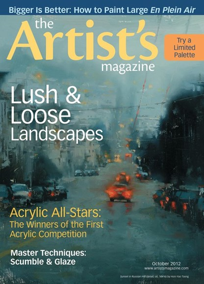 Artists Cover - 10/1/2012