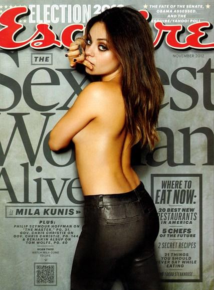 Esquire Cover - 11/1/2012