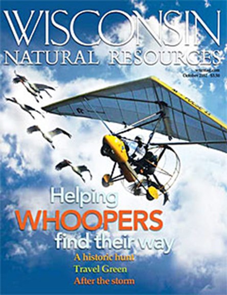 Wisconsin Natural Resources Cover - 10/1/2012