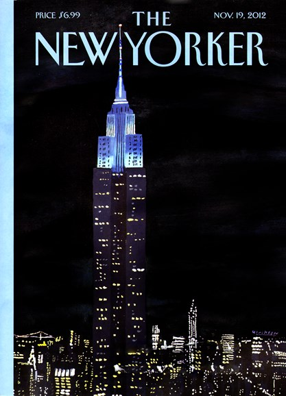 The New Yorker Cover - 11/19/2012
