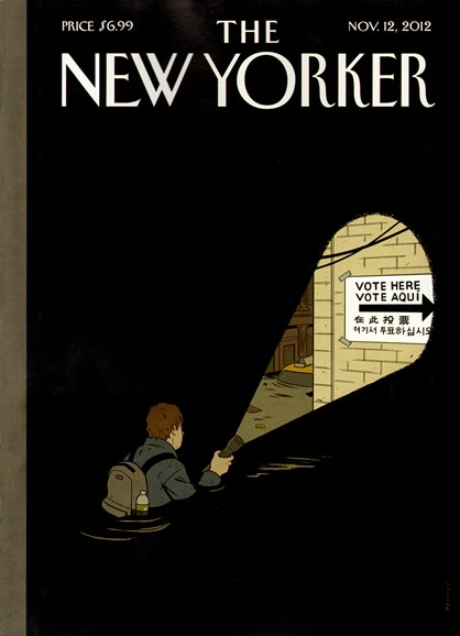 The New Yorker Cover - 11/12/2012