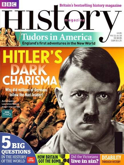 BBC History Cover - 10/1/2012