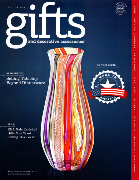 Gifts And Decorative Accessories Cover - 9/1/2012