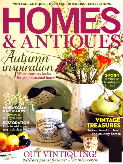 Homes & Antiques Cover - 10/1/2012