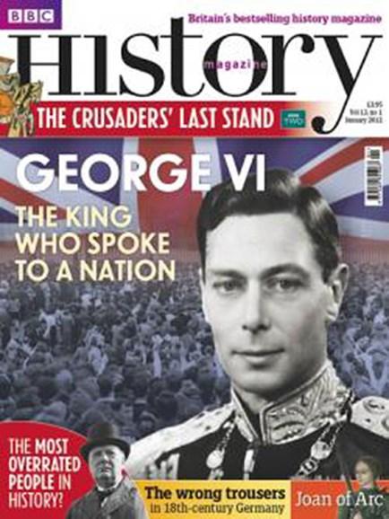 BBC History Cover - 1/1/2012