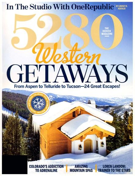 5280 Magazine Cover - 11/1/2012