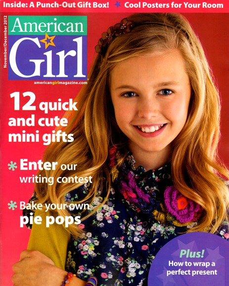 American Girl Cover - 11/1/2012