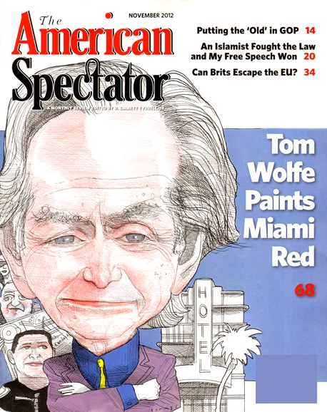 The American Spectator Cover - 11/1/2012