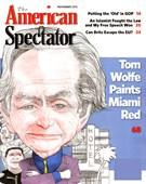 The American Spectator Magazine 11/1/2012