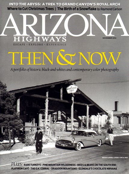 Arizona Highways Cover - 11/1/2012