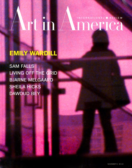 Art In America Cover - 11/1/2012