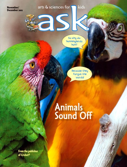 ask Cover - 11/1/2012