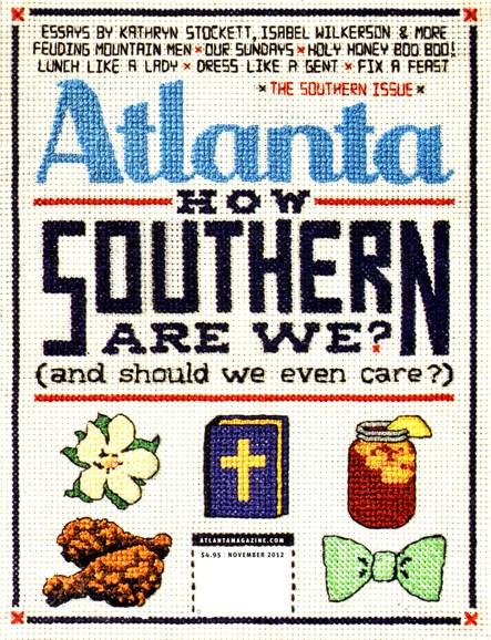 Atlanta Magazine Cover - 11/1/2012