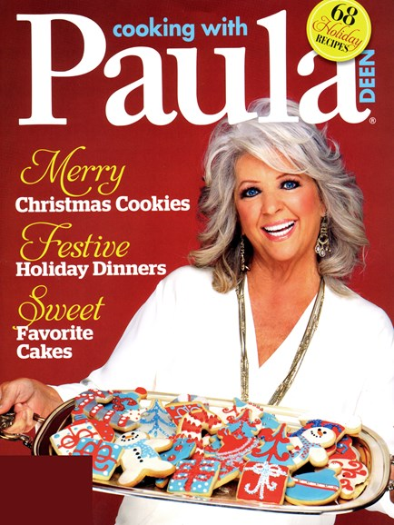 Cooking With Paula Deen Cover - 11/1/2012