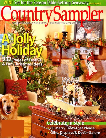 Country Sampler Cover - 11/1/2012