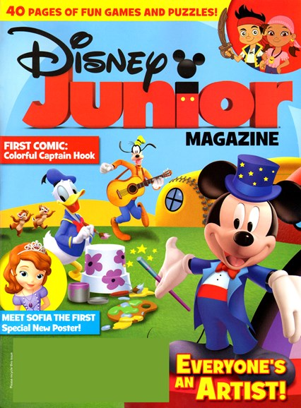 Disney Junior Cover - 11/1/2012