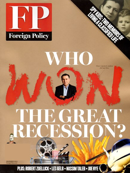 Foreign Policy Cover - 11/1/2012