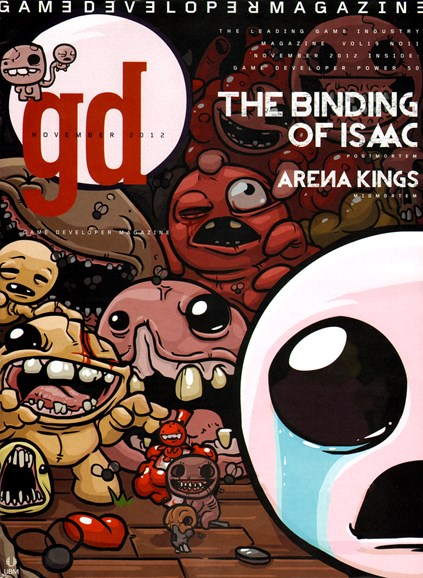 Game Developer Cover - 11/1/2012