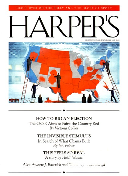 Harper's Cover - 11/1/2012