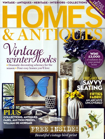 Homes & Antiques Cover - 11/1/2012