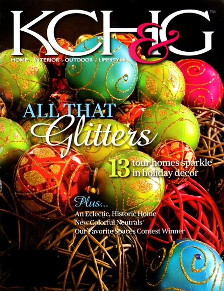 Kansas City Homes & Gardens Cover - 11/1/2012
