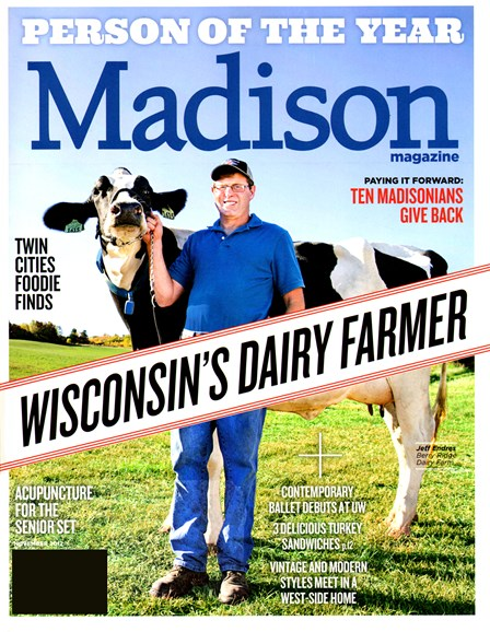 Madison Magazine Cover - 11/1/2012