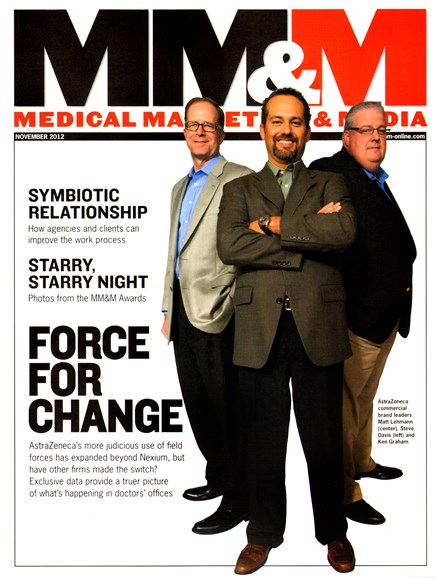 Medical Marketing & Media Cover - 11/1/2012