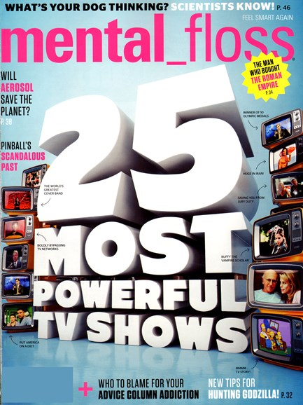 Mental Floss Cover - 11/1/2012