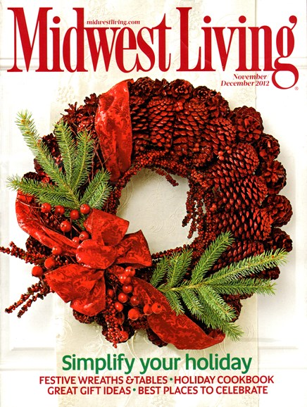 Midwest Living Cover - 11/1/2012